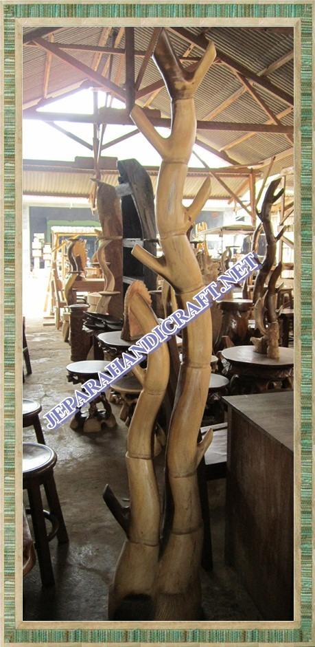 Gantungan Antik Bamboo Jepara