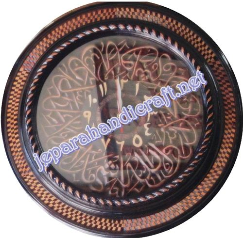 Jam Ukiran Kaligrafi Syahadat