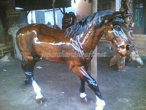 Patung Kuda Real Size