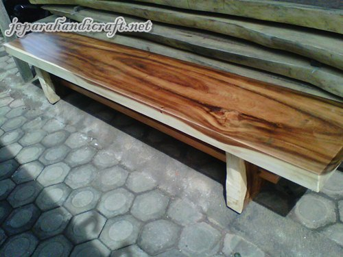 Jual Kursi Bangku Taman Solid Wood Kotak