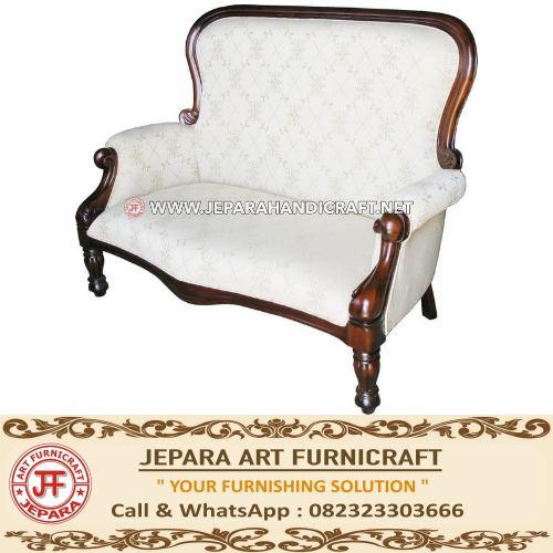 Jual Kursi Sofa Tamu Grandfather 2 Seater Terbaru Murah