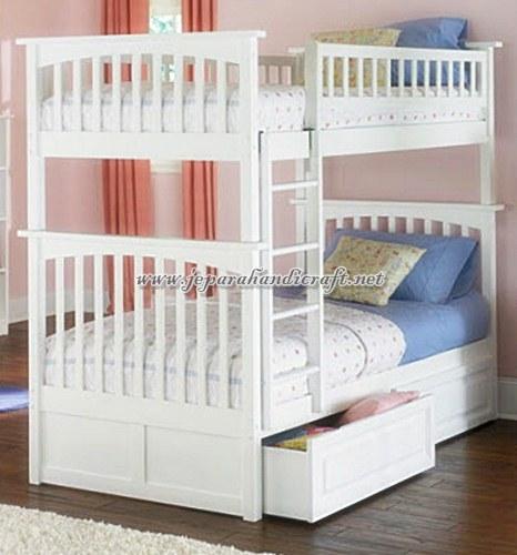 Jual Tempat Tidur Anak Tingkat Minimalis Duco Murah