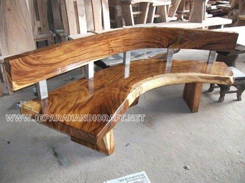 Desain Kursi Taman Antik Solid Wood Hollow Harga Murah