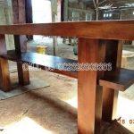 Meja Rias Minimalis Solid Wood