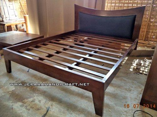 Jual Tempat Tidur Minimalis Jati Tanduk Harga Murah