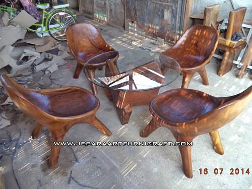 Jual Kursi Tamu Solid Lazy Chair Harga Murah