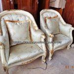Sofa Tamu Mewah Louis Armchair