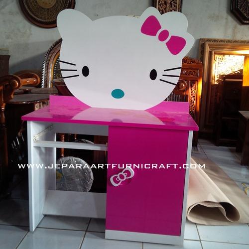 Kami Menjual Meja Belajar Hello Kitty Harga Murah Berkualitas