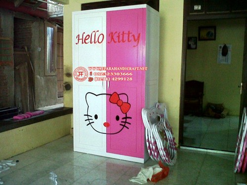Harga Lemari Anak Hello Kitty Unik Murah
