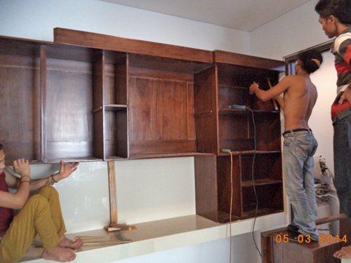 Proses Instalasi Furniture Jepara