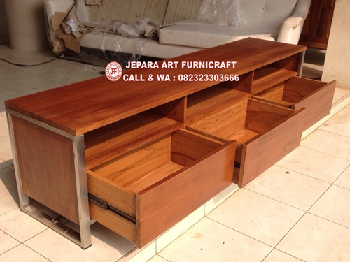 Bufet Minimalis Jati Vintage Mid 004