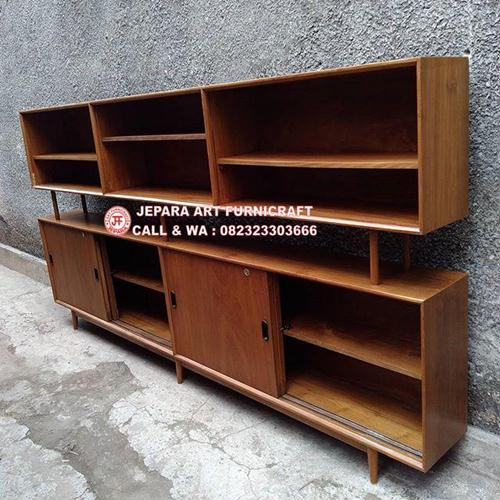 Bufet Minimalis Jati Vintage Mid 011