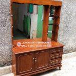 Meja Rias Minimalis Vintage Jati
