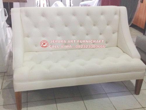 Teerlaris Dijual Murah Sofa Minimalis Modern Britney White