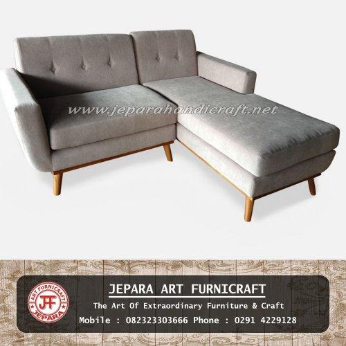 Sofa Tamu Minimalis Modern Sudut