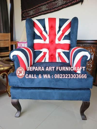 Sofa Tamu Union Jack