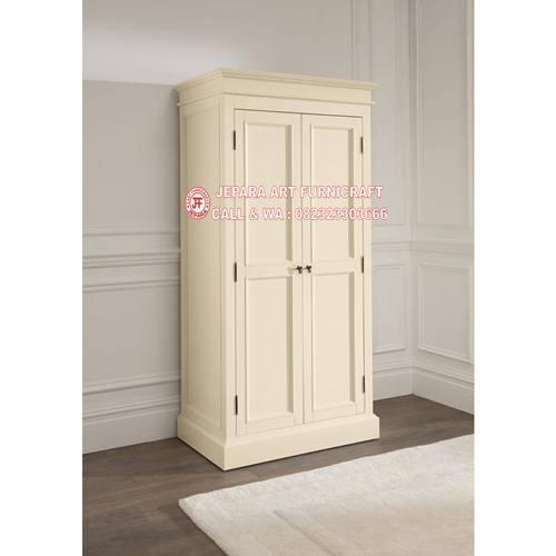 ual Lemari Pakaian Minimalis Mewah 2 Pintu Murah