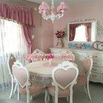 Set Kursi Makan Mewah Klasik Love