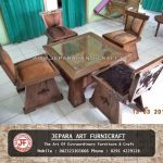 Kursi Tamu Antik New Reclaimed Apache