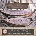 Set Kursi Tamu Jati Antik Perahu