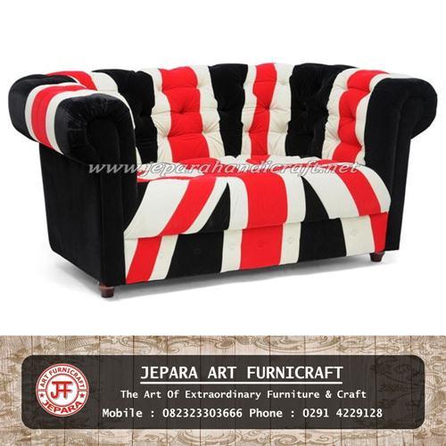 Sofa Minimalis Chesterfield Union Jack