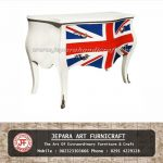 Meja Buffet Commade British Style