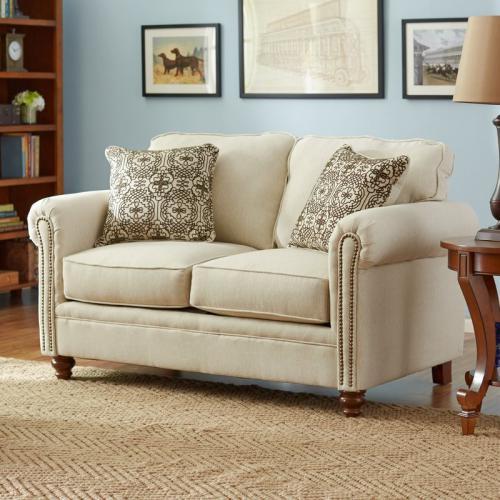 Sofa Ruang Tamu Mewah Reno Love Seat