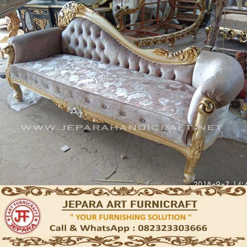 Jual Sofa Classic Mewah Chaise Lounge Elora Harga Murah