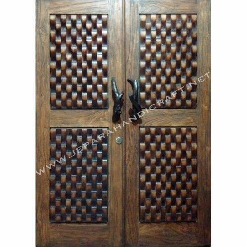 Jual Pintu Kayu Jati Minimalis Antik Rustik Jepara Harga Murah