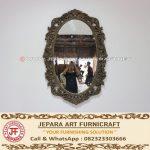 Cermin Kaca Vintage Klasik Mewah Nina