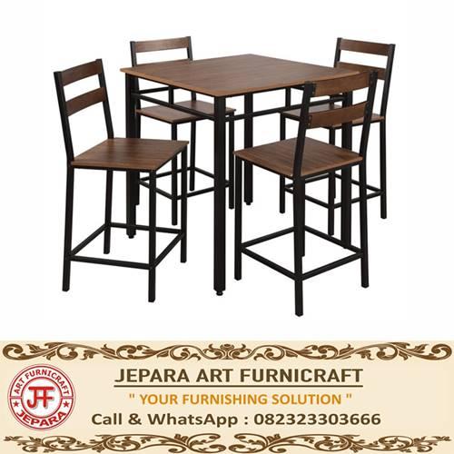 Promo Meja Kursi Cafe Minimalis Industrial Nadine Berkualitas