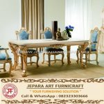 Set Kursi Makan Mewah Klasik Alexandra