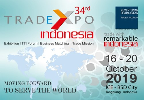 Trade Expo Indonesia 34th 2019 - Ice BSD Tangerang