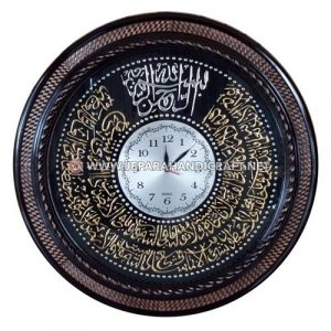 Jual Jam Dinding Kaligrafi Ayat Kursi Bulat Berkualitas