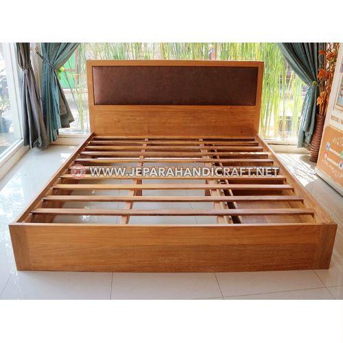 Jual Tempat Tidur Jati Minimalis Sugi Jepara Murah