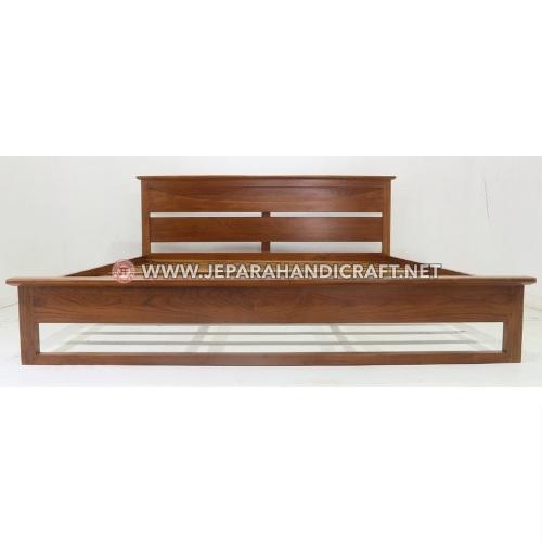 Jual Tempat Tidur Minimalis Jati Richard Jepara Murah