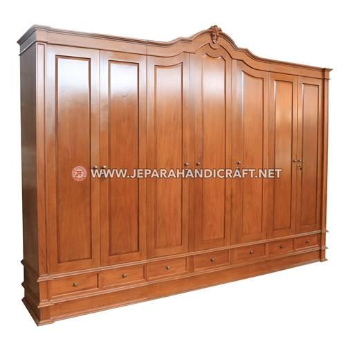 Jual Lemari Pakaian Mewah Klasik Grande 7 Pintu Berkualitas