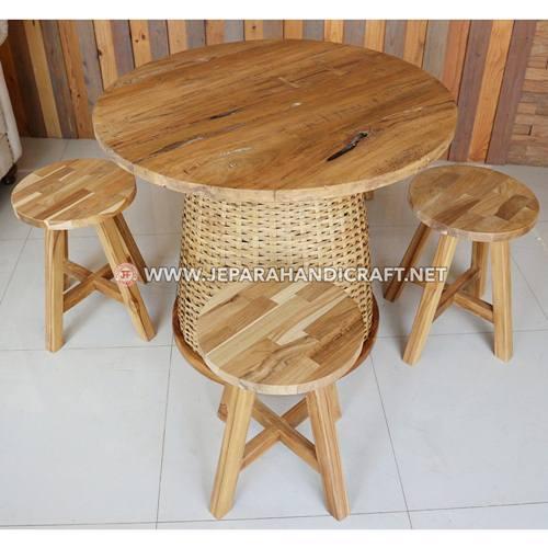 Beli Meja Kursi Cafe Resto Unik Kayu Jati Terbaru