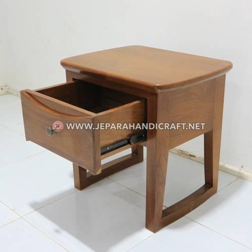 Jual Bedside Minimalis Kayu Jati Richard Jepara Murah