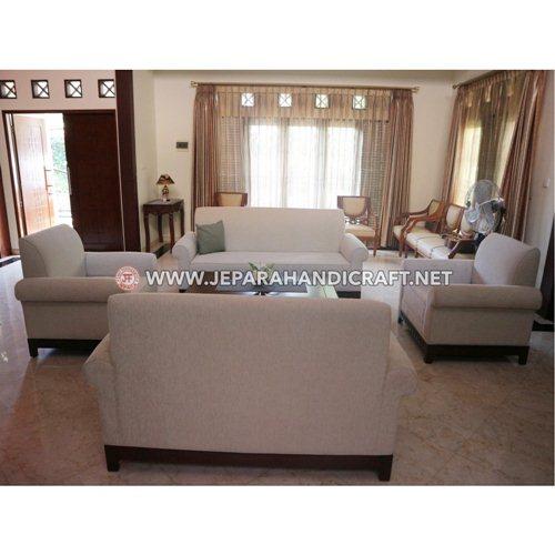 Jual Sofa Ruang Tamu Kayu Jati Minimalis