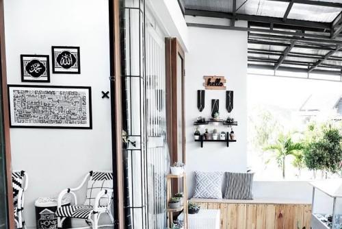 Ide & Inspirasi Hiasan Dekorasi Dinding Monokrom