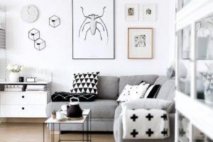 Konsep Rumah Minimalis Modern Dengan Interior Monochrome