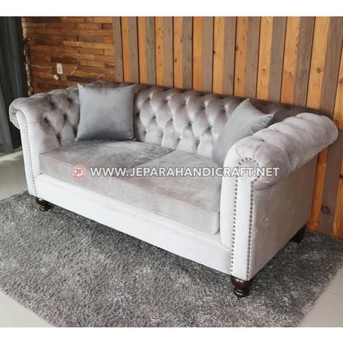 Beli Sofa Ruang Keluarga Chesterfield Jepara Harga Murah