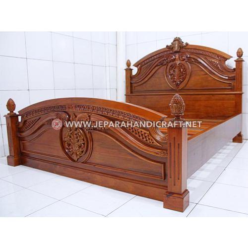 Jual Tempat Tidur Mewah Klasik Concha Harga Murah