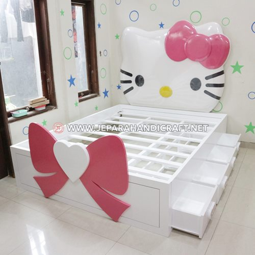 Jual Tempat Tidur Hello Kitty Terbaru Harga Murah